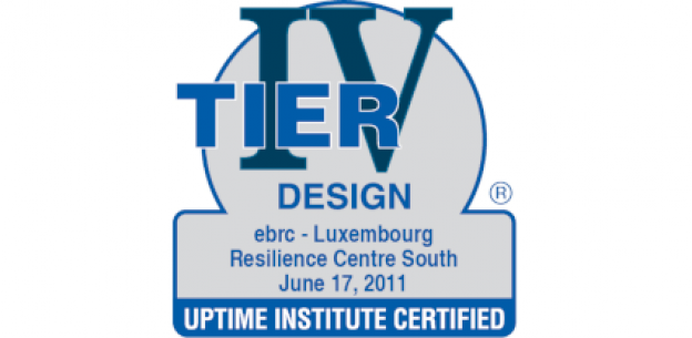EBRC is certified Tier IV Design for its Luxembourg Resilience Centre South