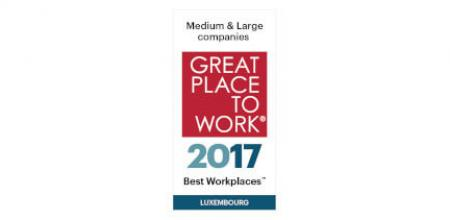 Great Place to Work - EBRC - 2017