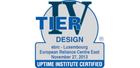 EBRC is certified Tier Design for its Luxembourg Resilience Centre East