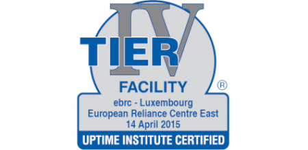 EBRC is certified Tier IV Facility for its Luxembourg Resilience Centre East